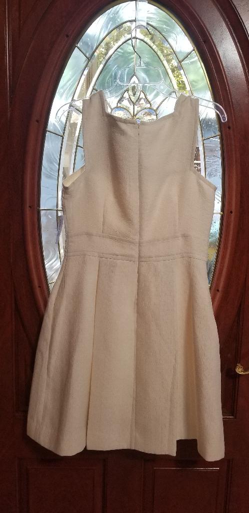 Cream/White Dress (Size 10) [Heidi Weisel]