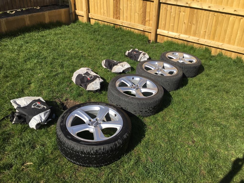 20 inch Genuine Audi alloys