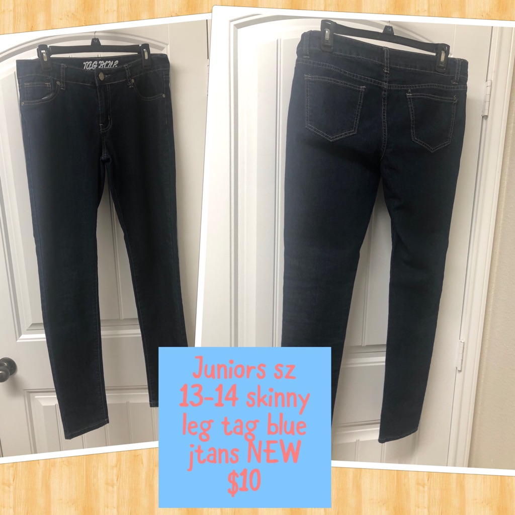 New Juniors skinny jeans sz13-14