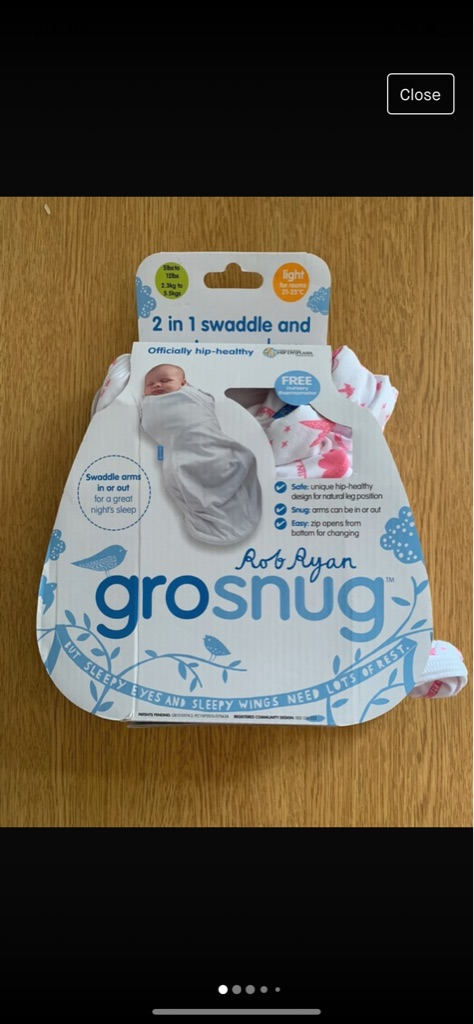 Babygrow snug