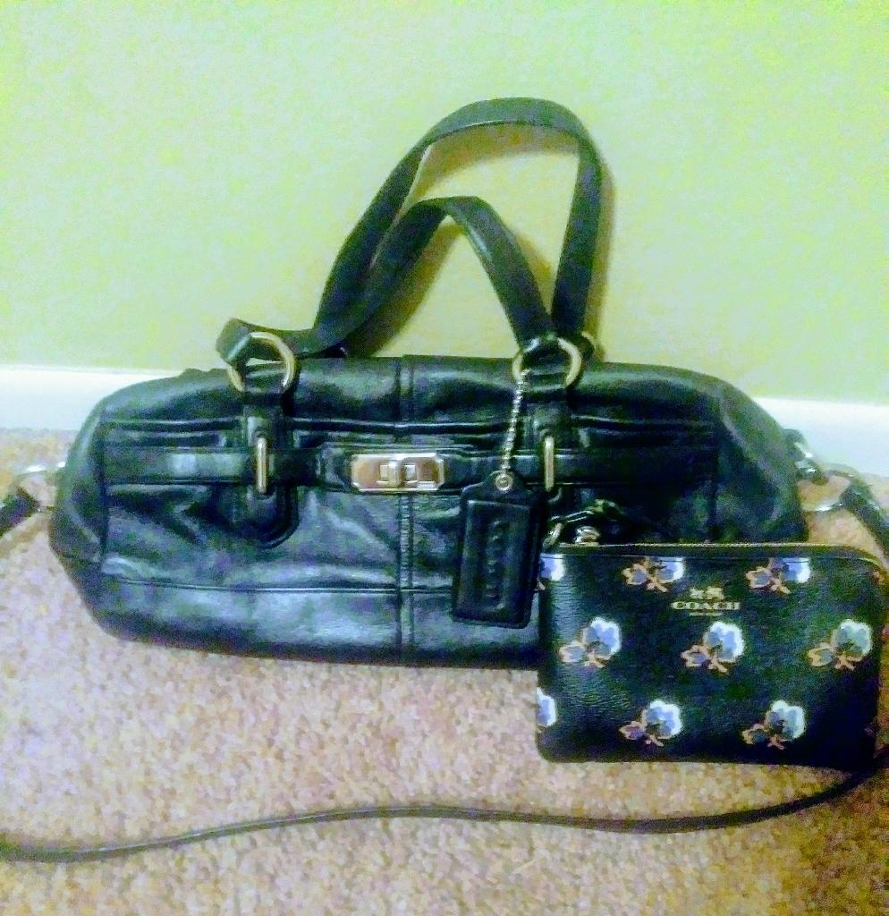 Coach purse & coach  👛