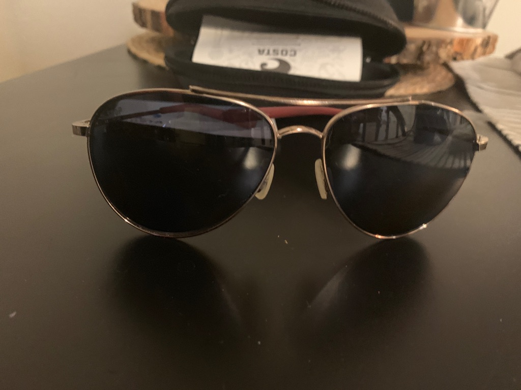 Women's Costa aviator sunglasses