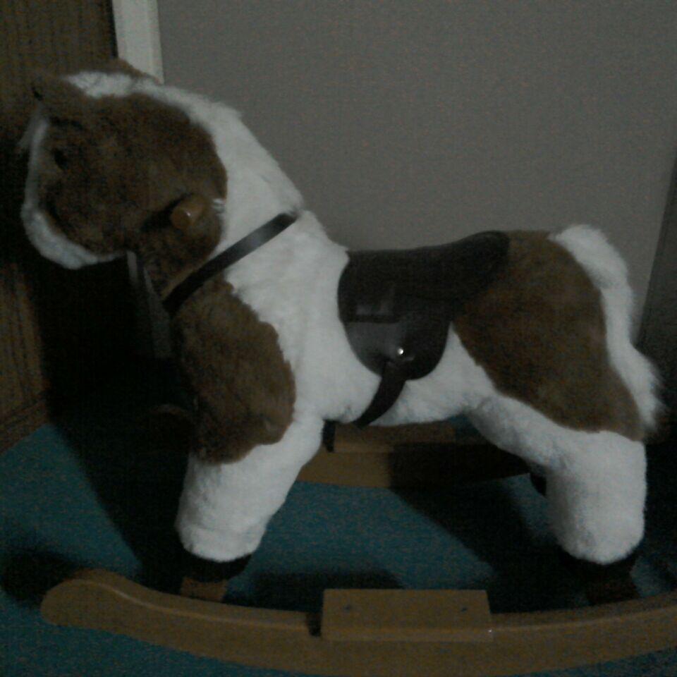 Mulholland & Bailie child's rocking horse