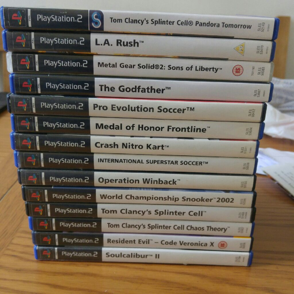 Playstation2 games - pre-owned