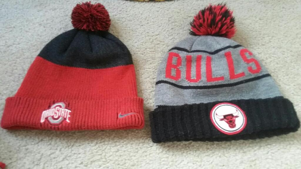 Chicago bulls & ohio state beanie