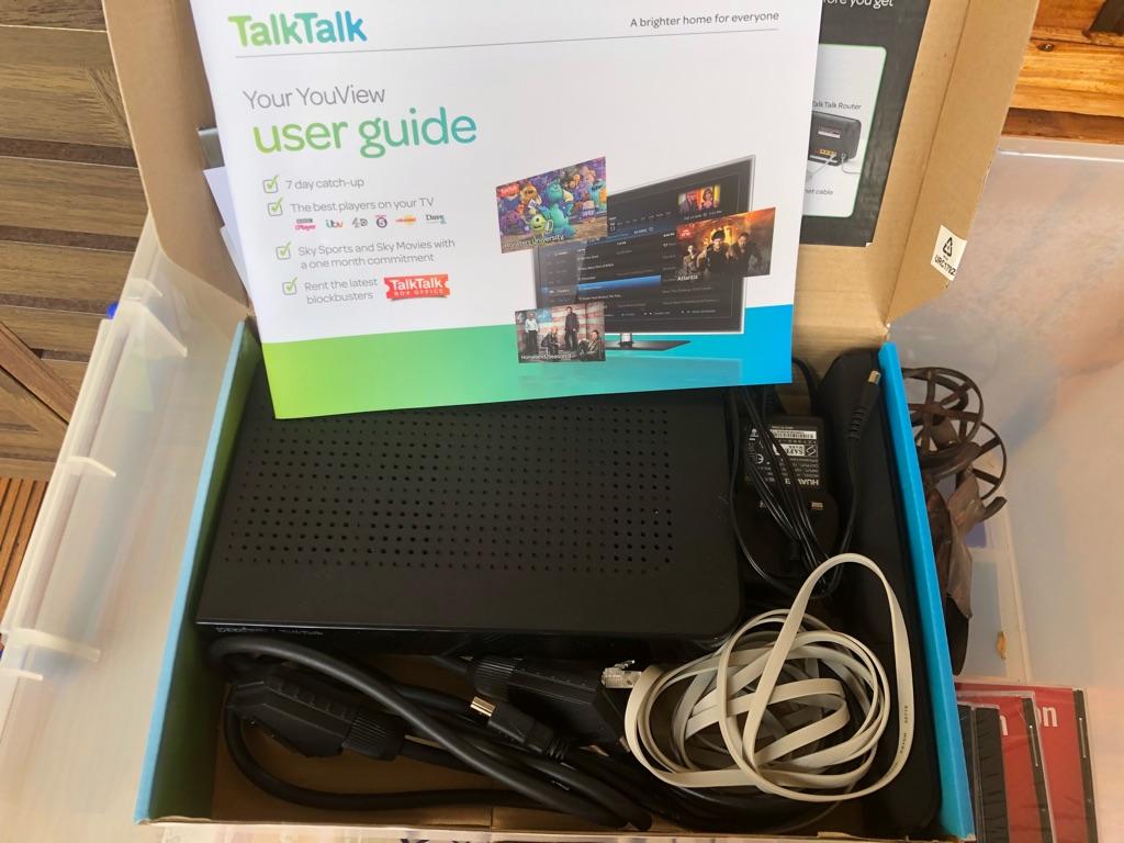 Talk talk tv box
