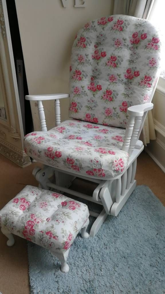 Nursing/Rocking Chair with Cath Kidston Fabric