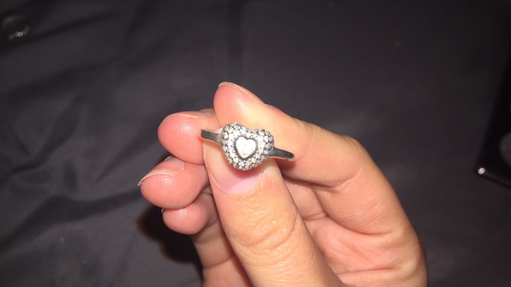 Pandora rings.