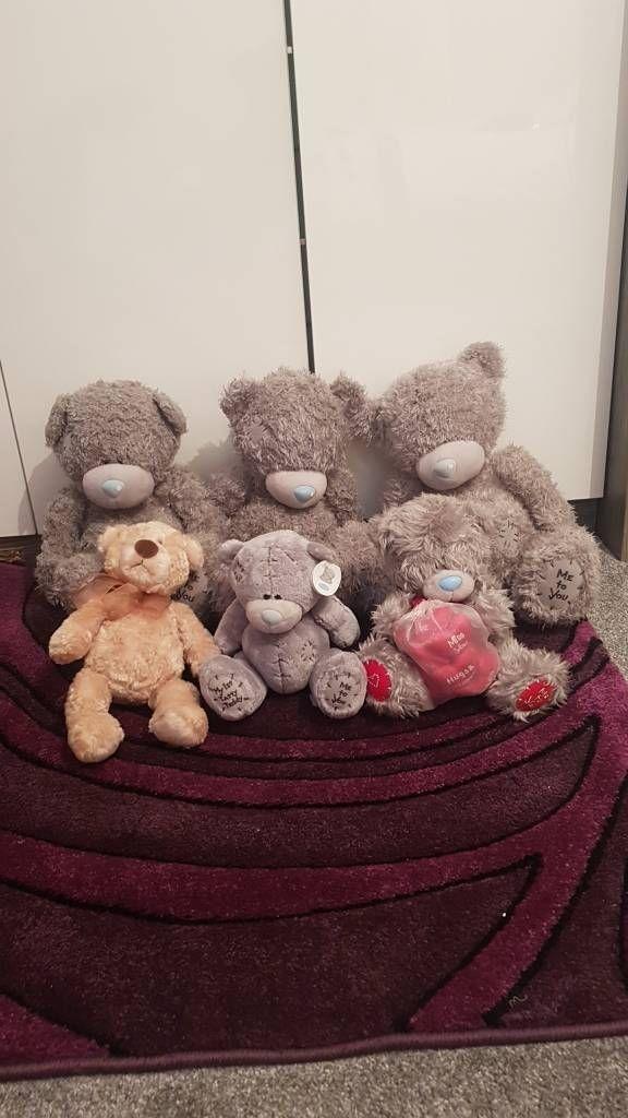 5 me to you teddy bears