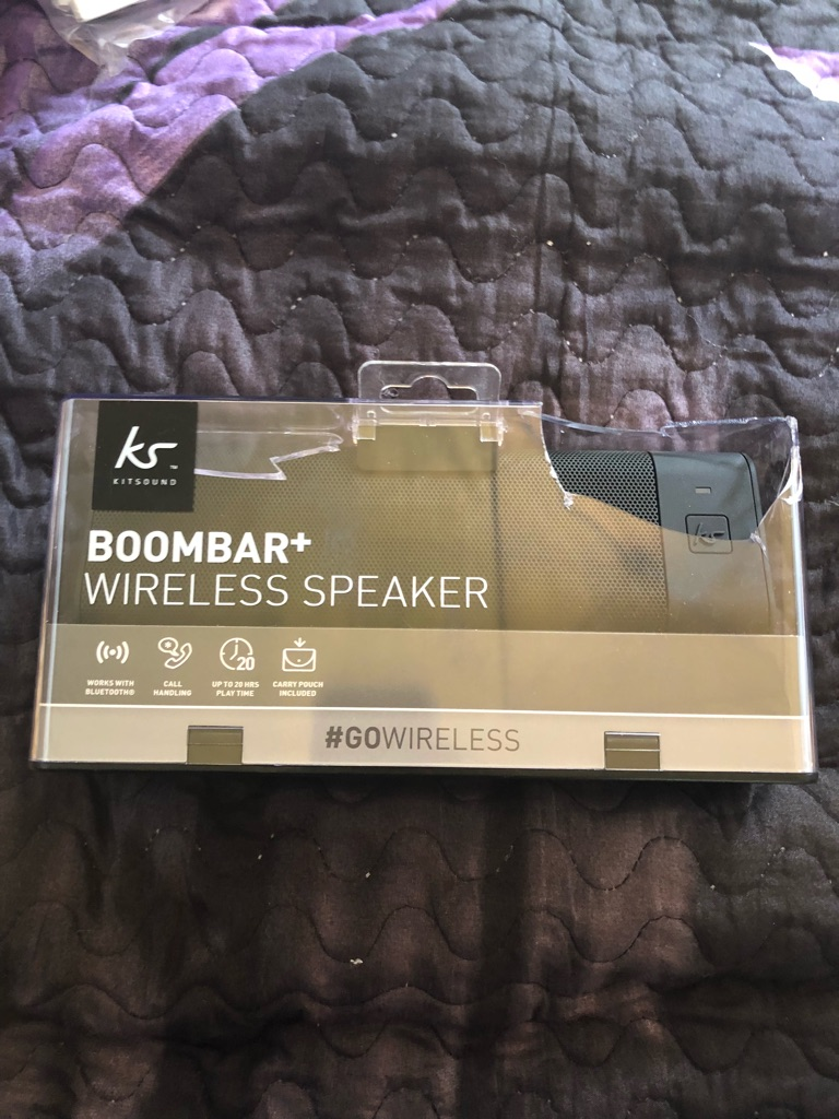 Boombar+ wireless speaker