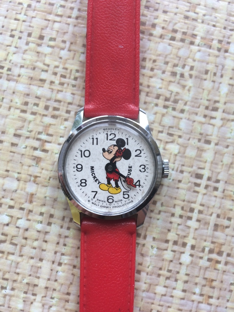Mickey Mouse vintage 1960's watch