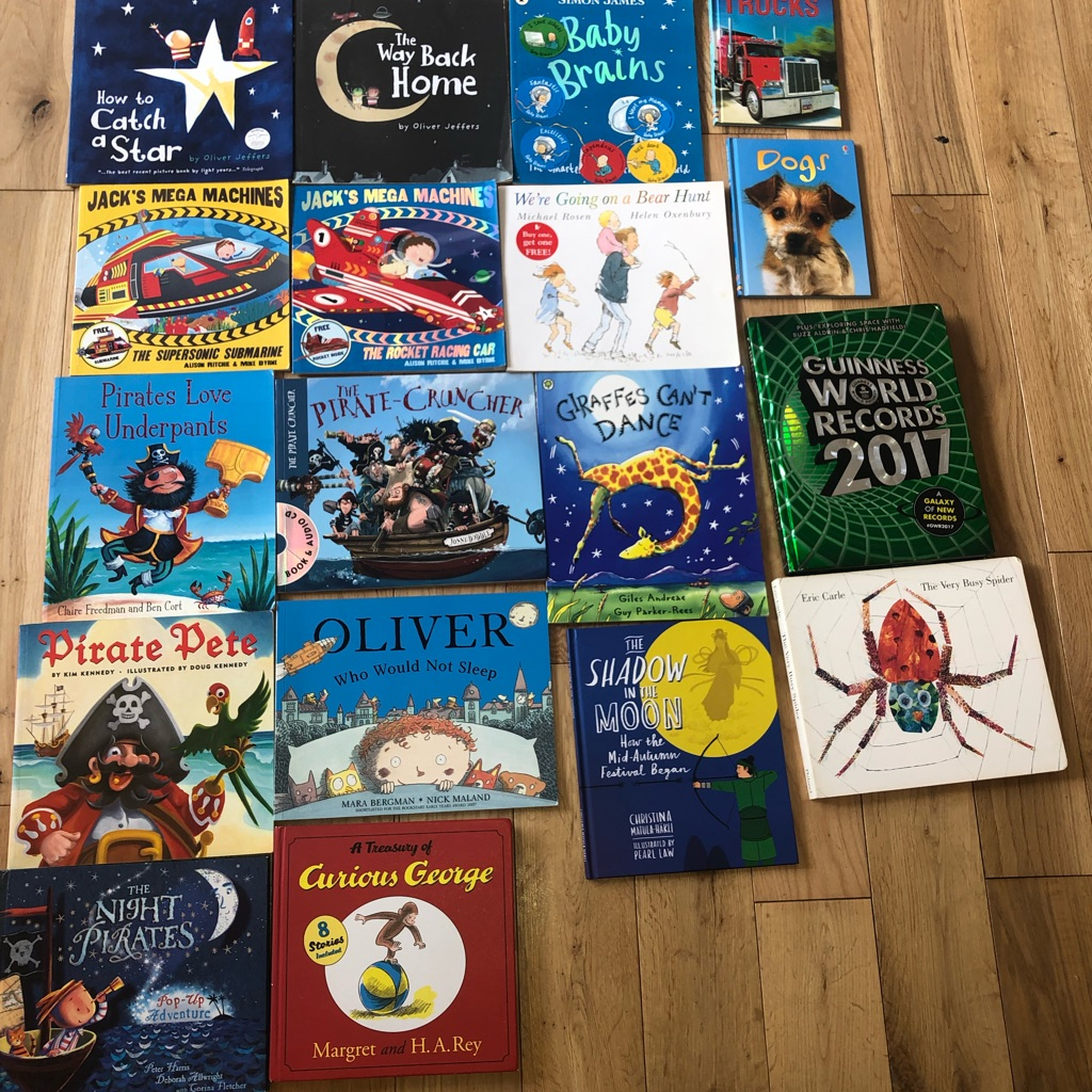 18 x kids 'bedtime story' picture books