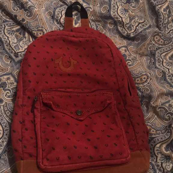 True religion backpack