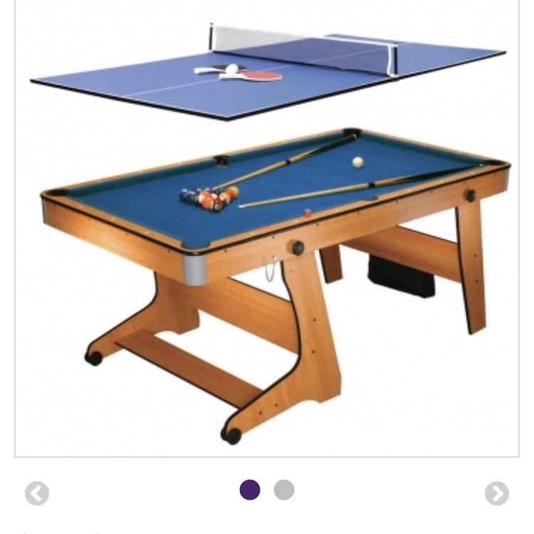 BCE 6ft Folding Leg pool table