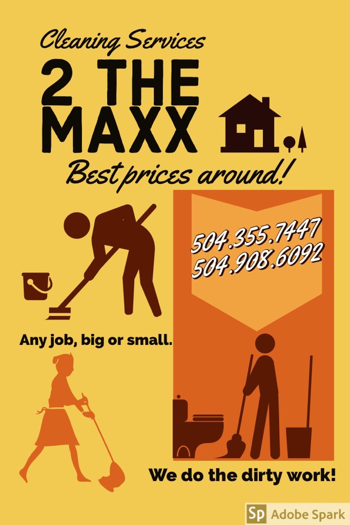 Cleaning services 2 the MAXX