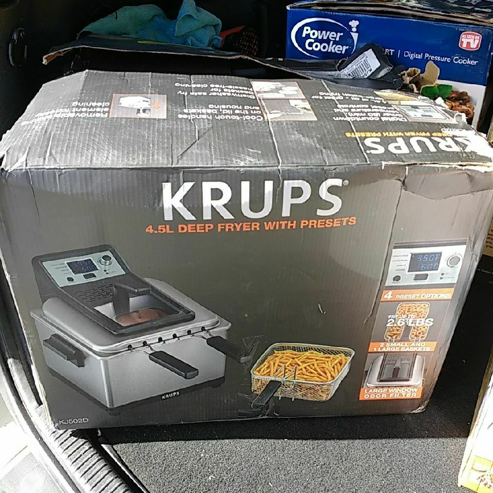 Krups deep fryer