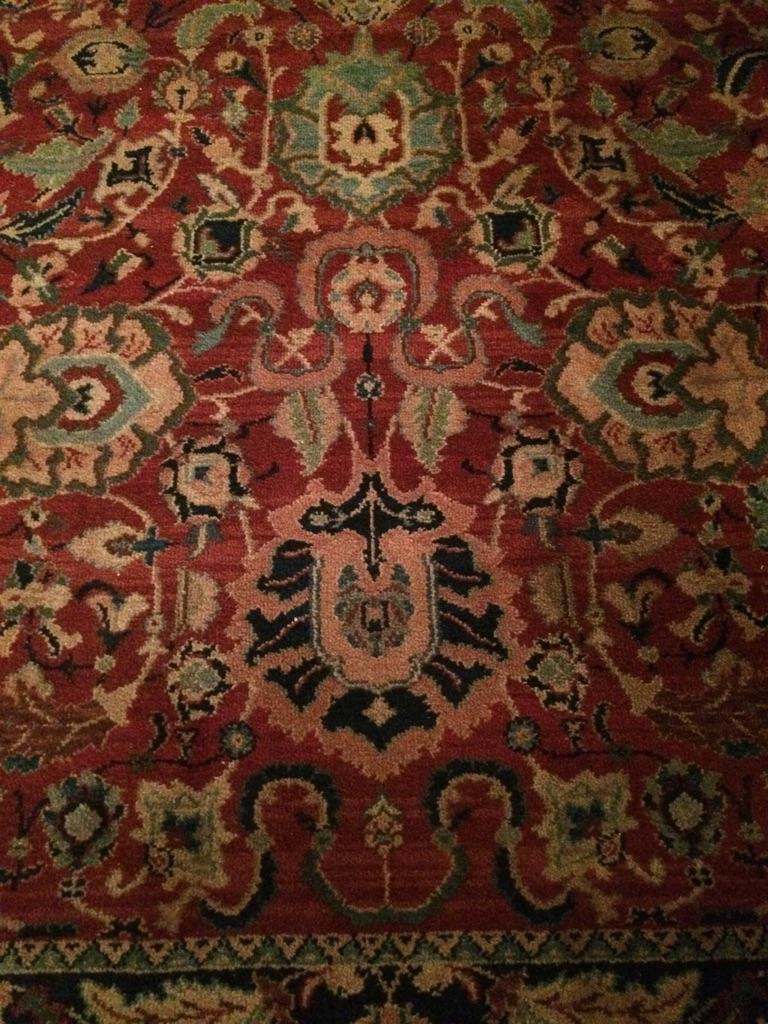 Karastan 100% Wool Persian Rug