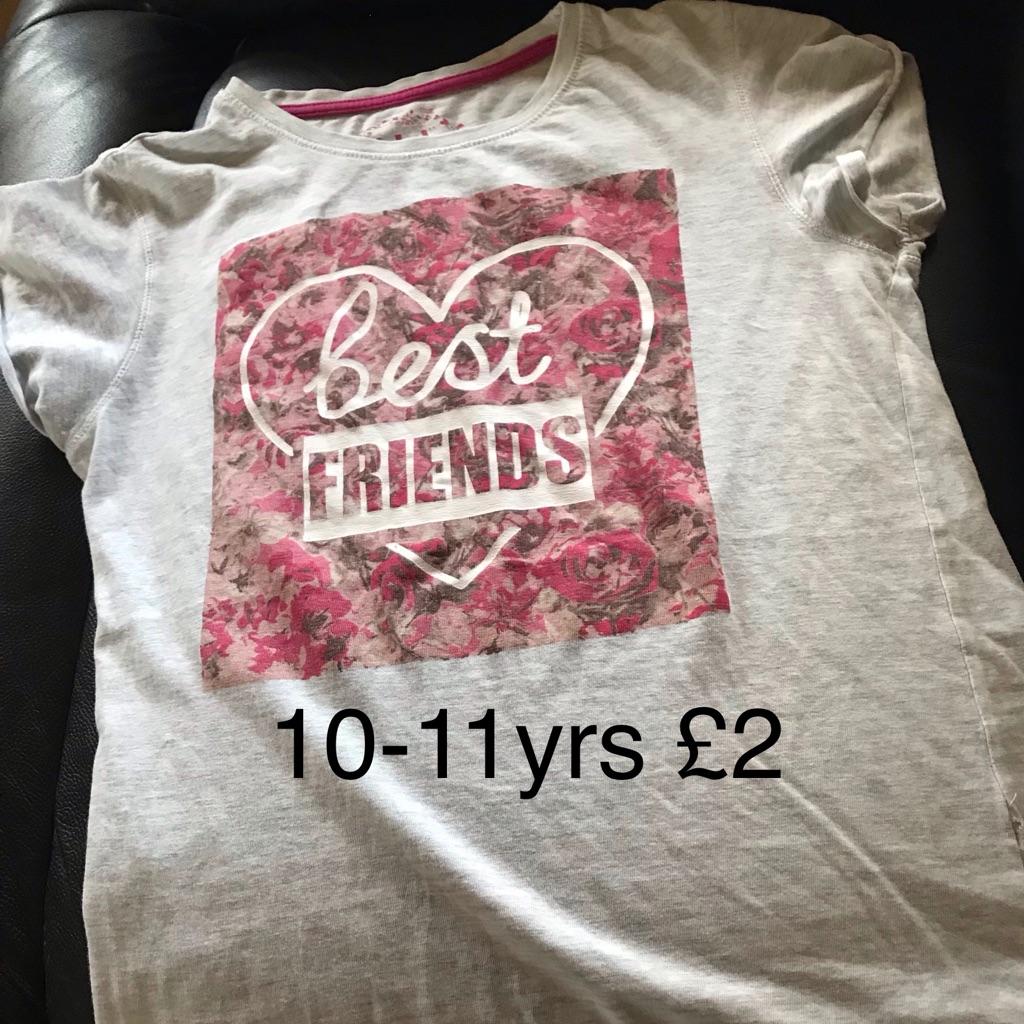 Best friends T-shirt 10-11