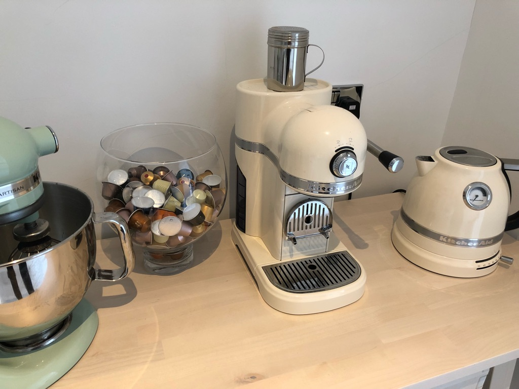 Kitchenaid Almond Cream Artisan Coffee Machine
