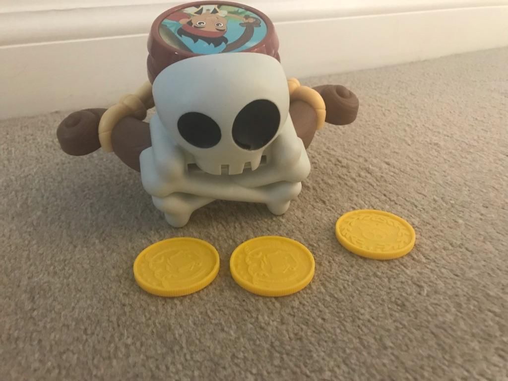 Pirate Jake doubloon blaster