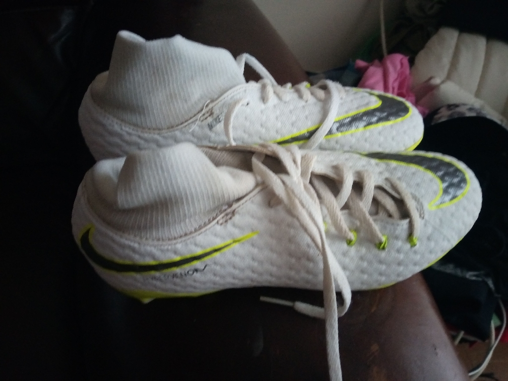 Nike footy boots size 3