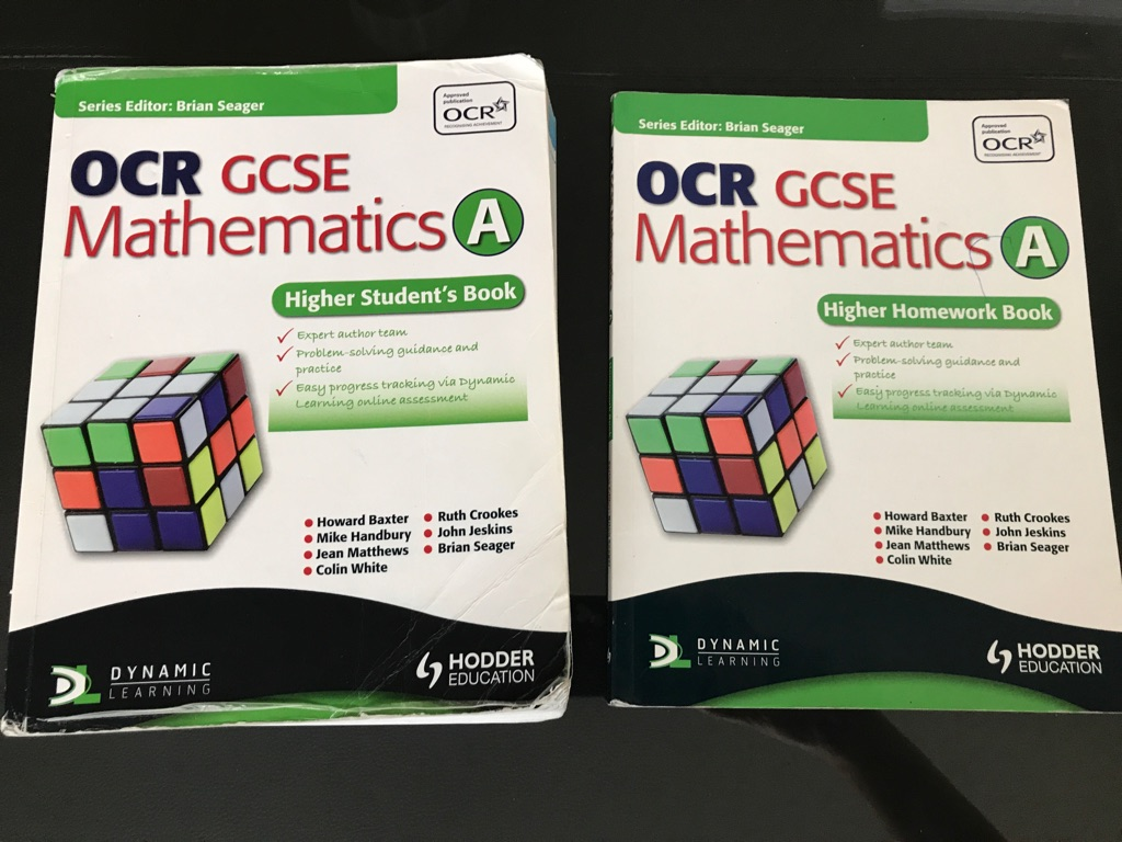GCSE maths books