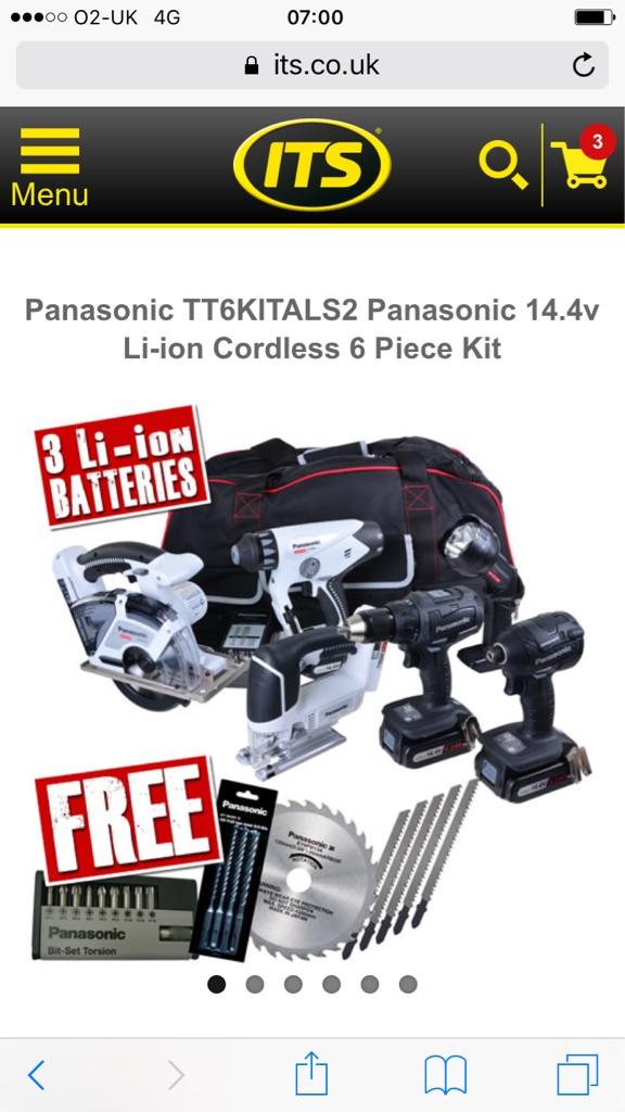 Panasonic cordless set