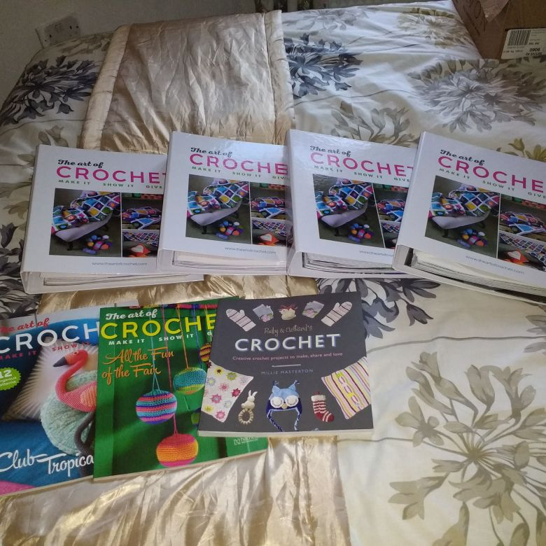 Crochet albums and books
