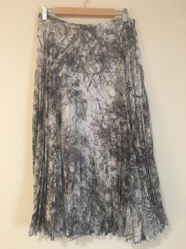 Midi Length Next Grey Skirt