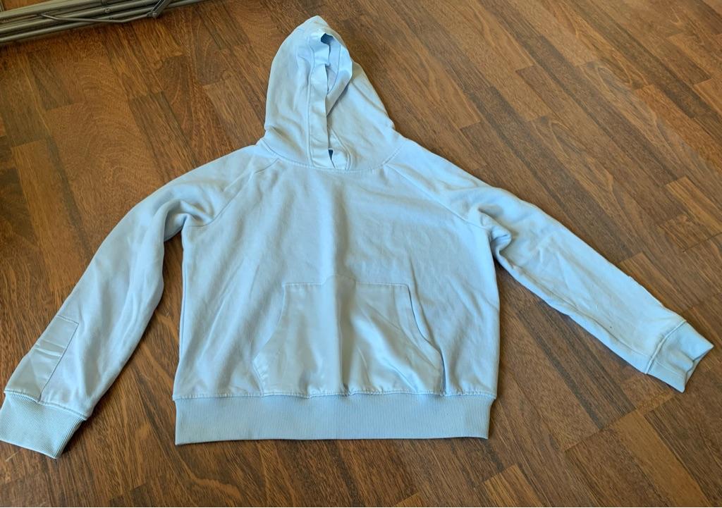 Pastel blue hoodie 12 years