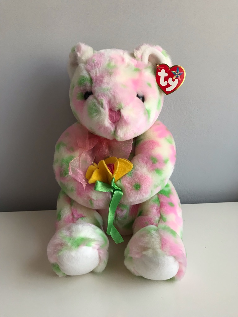 TY Beanie Bear - Bloom