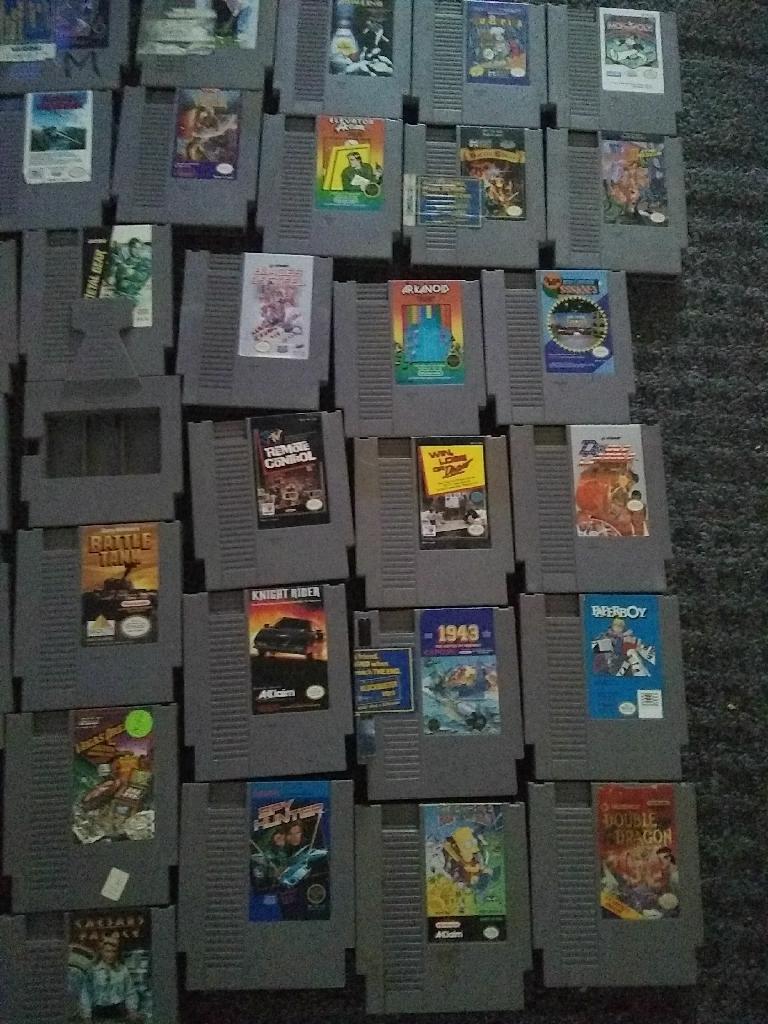 Nintendo nes video games