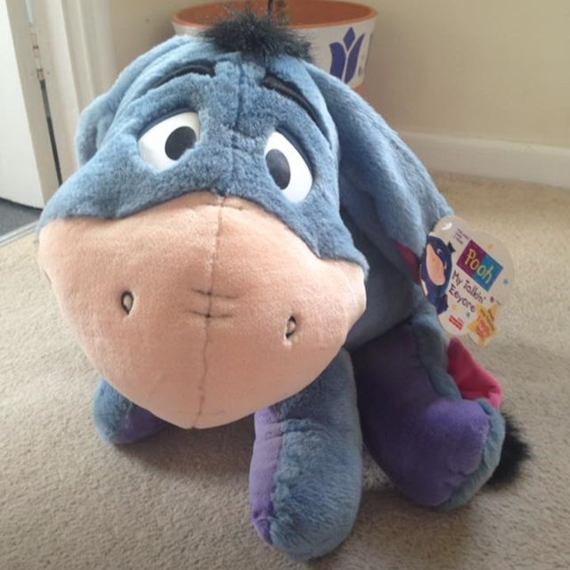 Big Talking Disney Eeyore Teddy