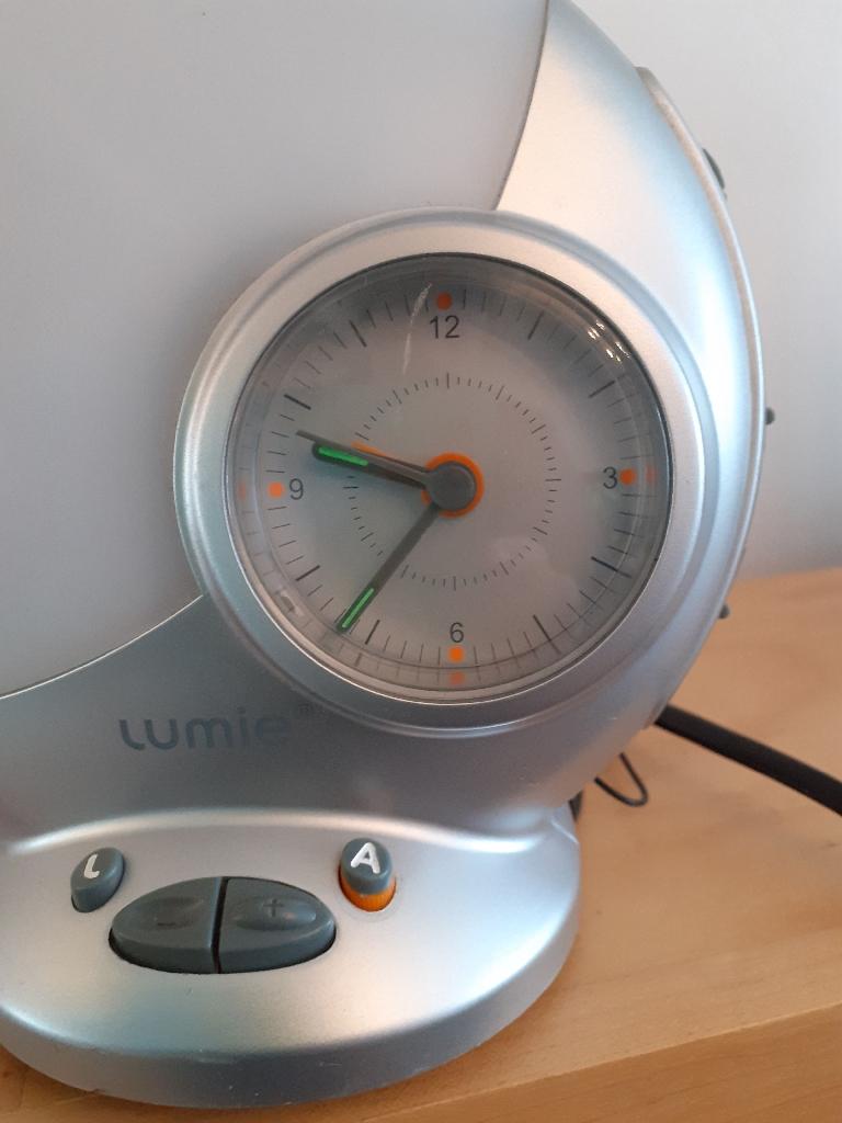 Radio Alarm Clock with light