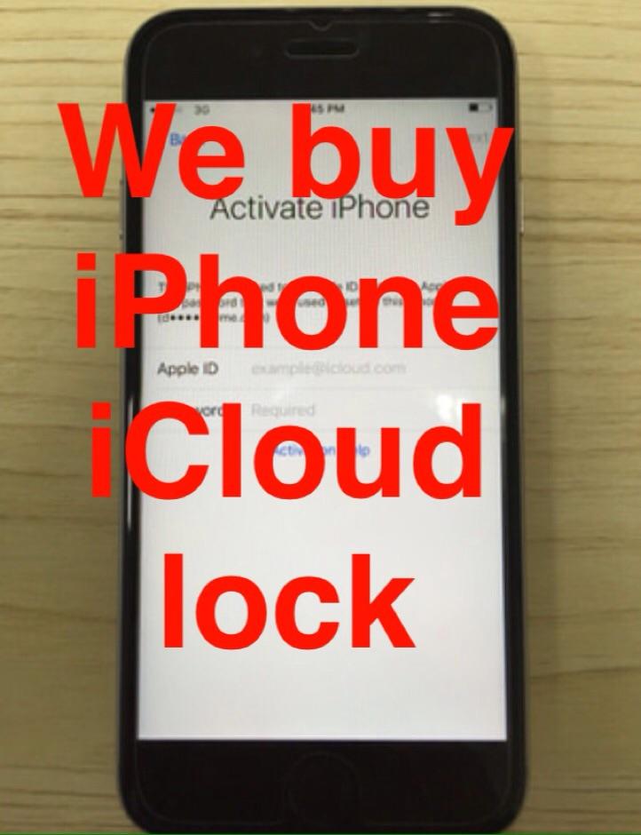 icloud locked iphone we buy