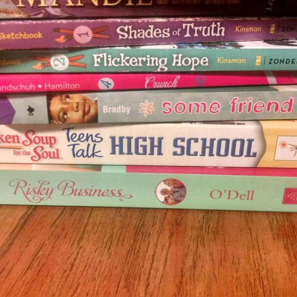Shades of truth, Flickering hope, Some friend, Risky Business, Crunch, teens talk- high school