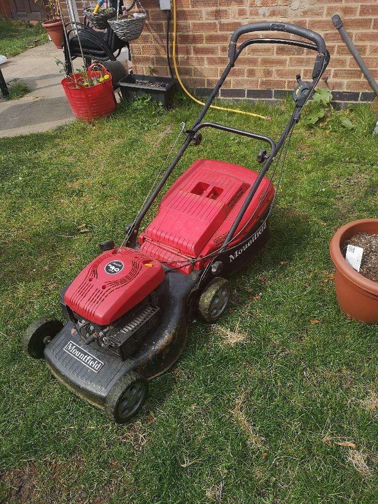Mountfield petrol grass cutter.