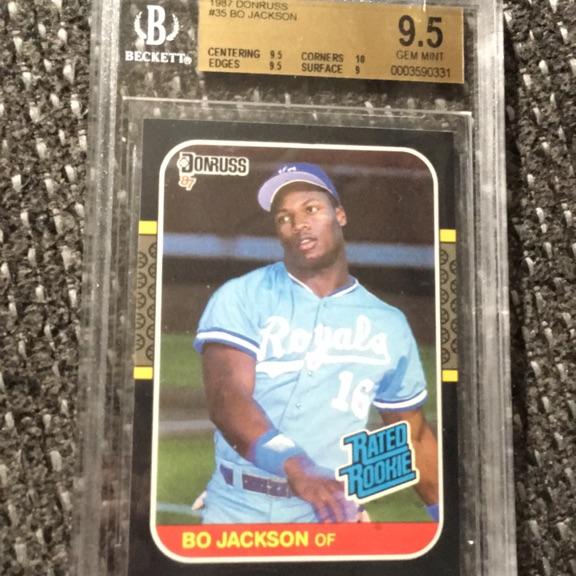 Bo Jackson Certified gem mint10 RC