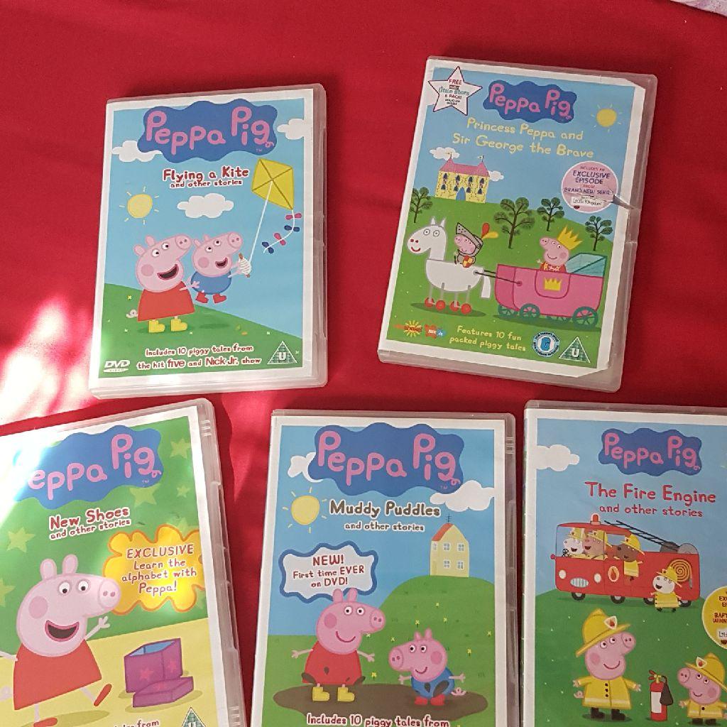 Peppa Pig Dvds Village