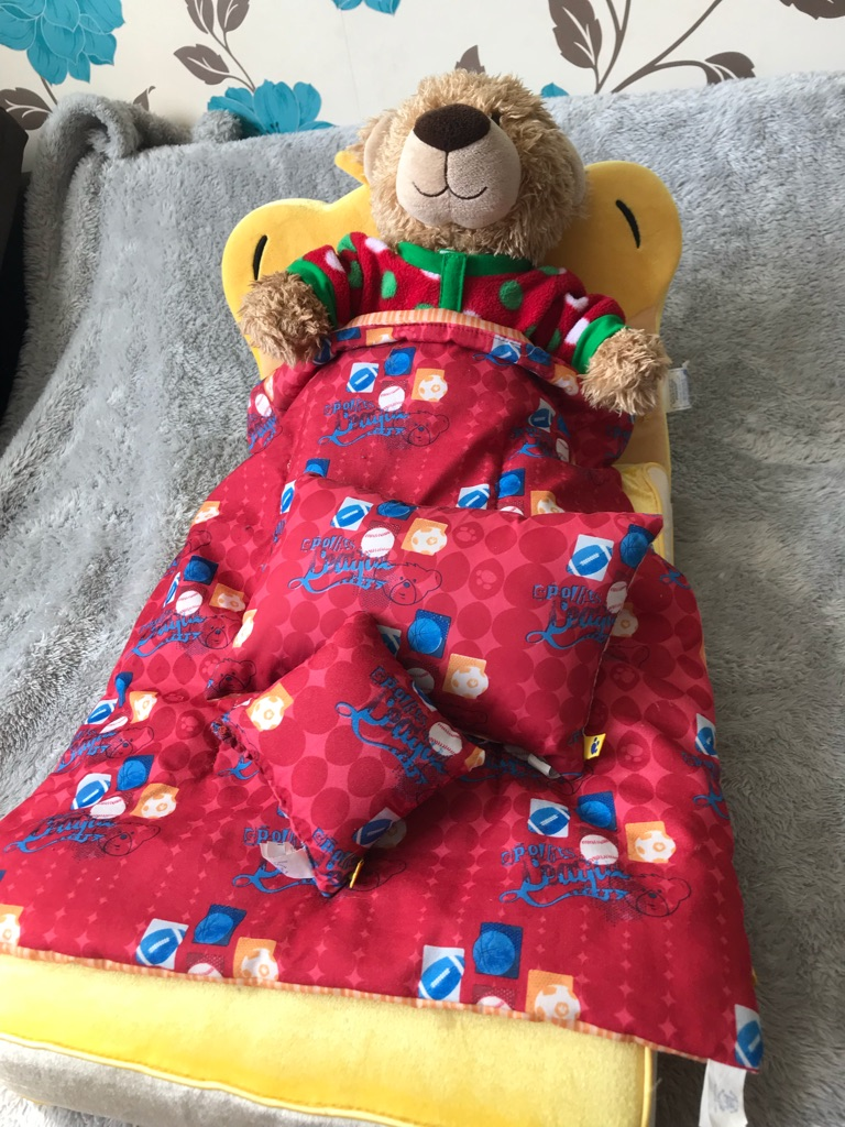 Build a beard bed and bear combo