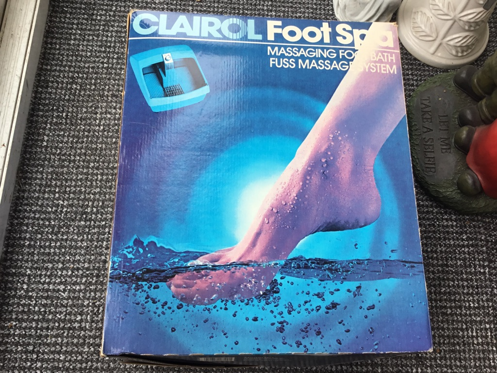Clairol foot spr massage for bath