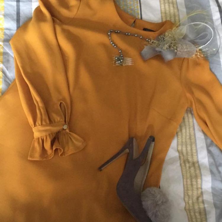Ochre dress