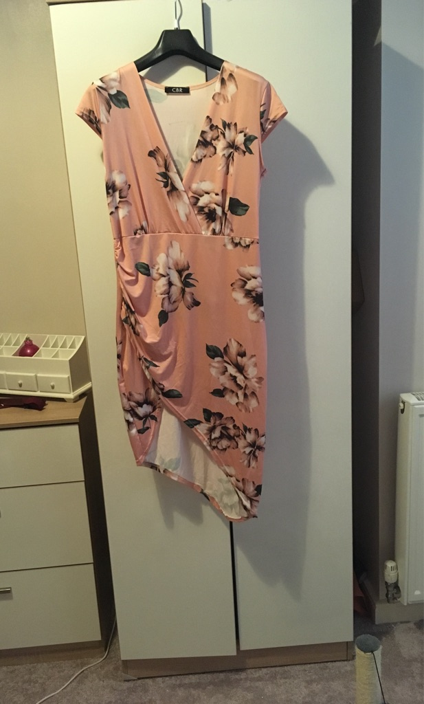 Baby pink dress size 12