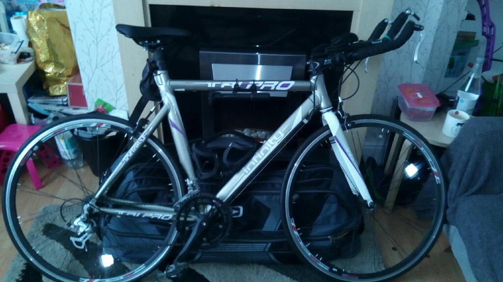 Tri-pro infinity 16speed triathlon bike
