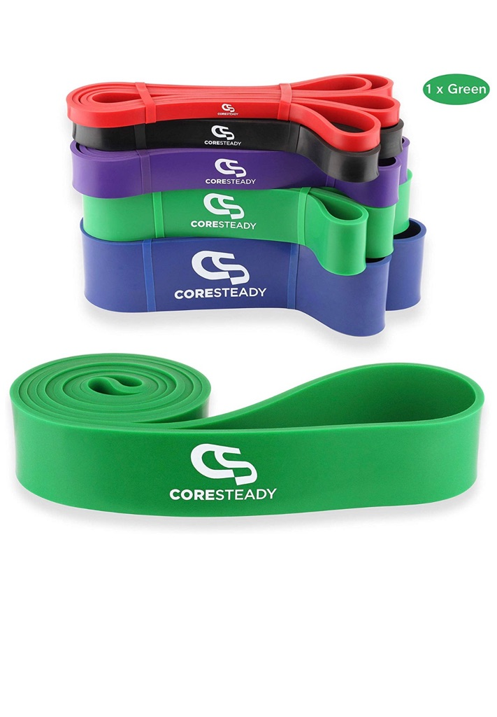 Coresteady Original Resistance Band For Exercise, Workouts, CrossFit & Powerlift