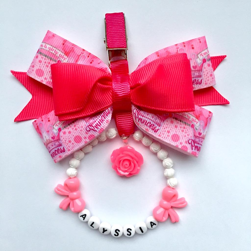 Pink princess pram charm