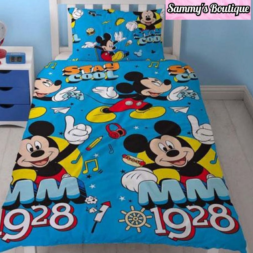 Mickey Mouse Duvet Set