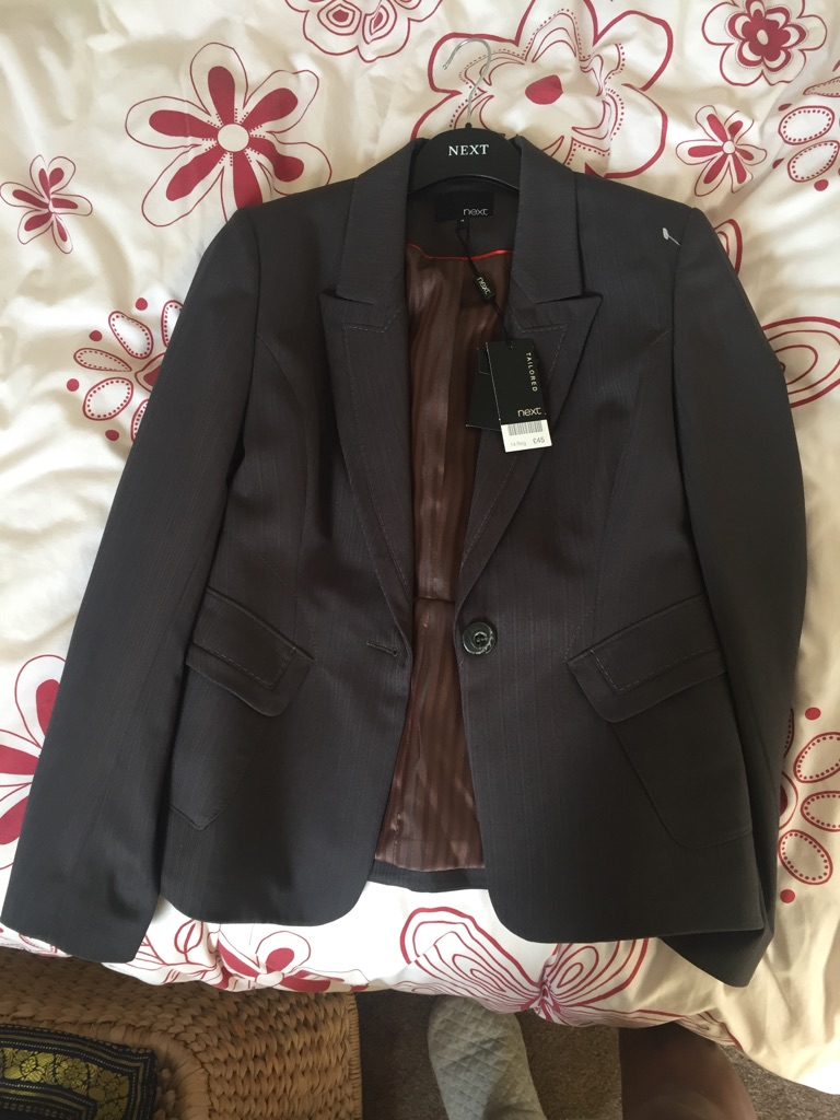 2 New NEXT tailored New unworn jackets size 14