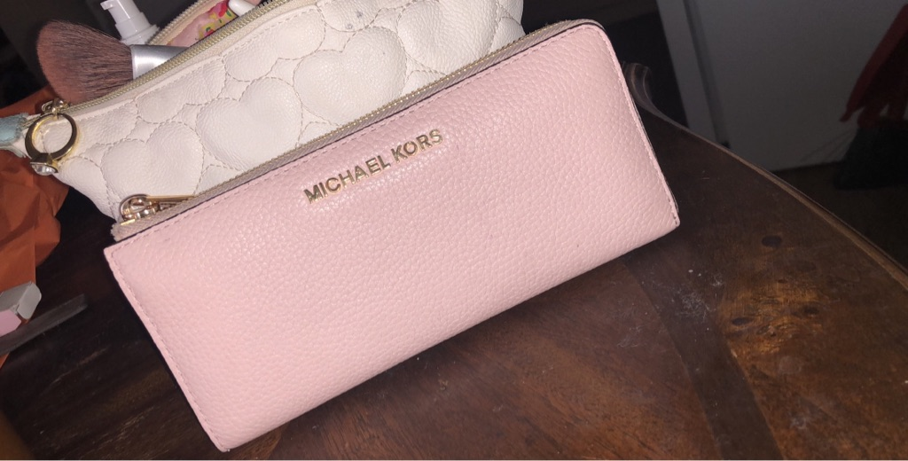Soft Pink Michael Kors Wallet