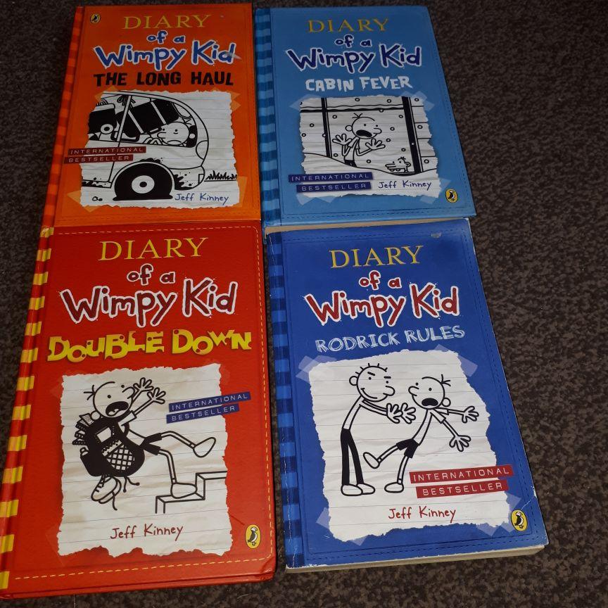 Jeff Kinney books x11